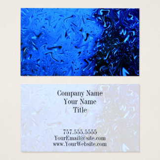 Raindrops by Shirley Taylor Business Card