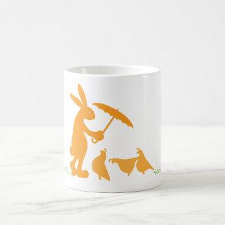 Raindrops Classic White Coffee Mug