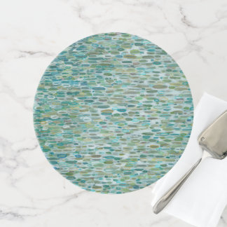Raindrops Coastal Home Interior Cake Stand by Juul