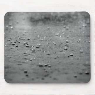 Raindrops in a Thunderstorm Mouse Pad