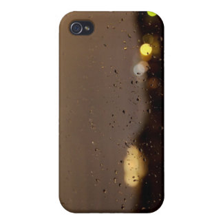 Raindrops in Night iPhone Case iPhone 4 Cover