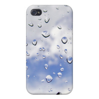 raindrops iPhone 4 cover