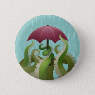 Raindrops: Lime Pinback Button