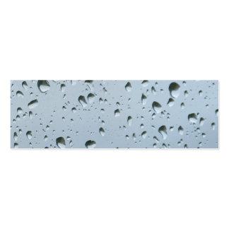Raindrops Mini Business Card