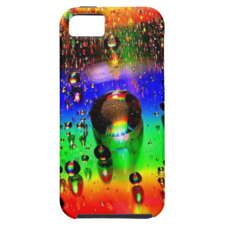 Raindrops on colors iPhone SE/5/5s case