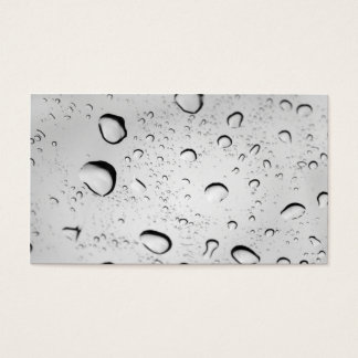 Raindrops on Glass Business Card