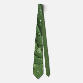 Raindrops on Hosta Leaf Necktie