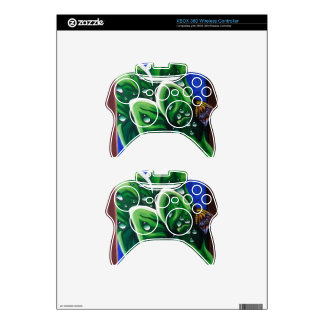 Raindrops on Leaves Xbox 360 Controller Skin
