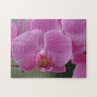 Raindrops On Orchid Puzzle
