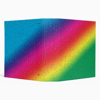 Raindrops on Rainbows Binder