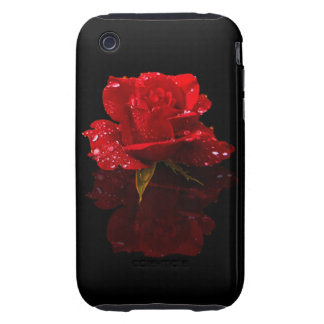 RAINDROPS ON ROSE TOUGH iPhone 3 COVER