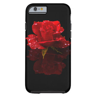 RAINDROPS ON ROSE iPhone 6 CASE