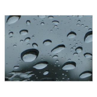 Raindrops Postcard