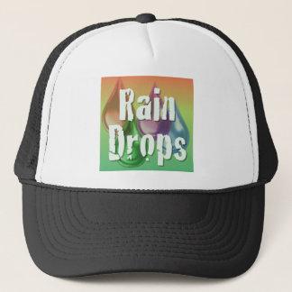 RainDrops Trucker Hat
