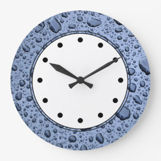 Raindrops Wall Clocks