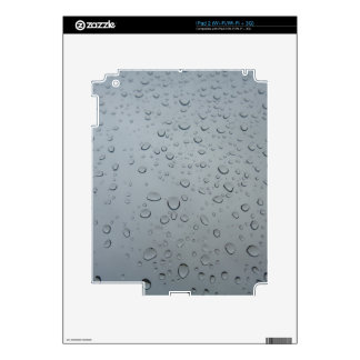 Raindrops, Water Drops, Rainy Window, Raining Decals For The iPad 2
