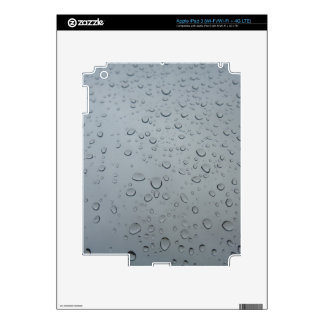 Raindrops, Water Drops, Rainy Window, Raining iPad 3 Skins