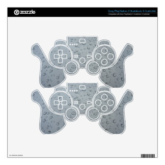 Raindrops, Water Drops, Rainy Window, Raining PS3 Controller Decals