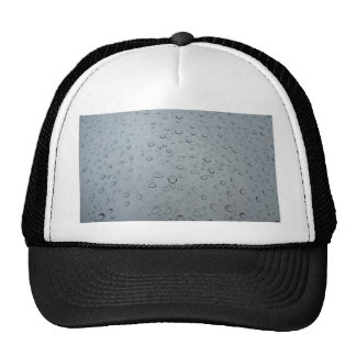 Raindrops, Water Drops, Rainy Window, Raining Trucker Hat