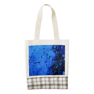 Raindrops Zazzle HEART Tote Bag
