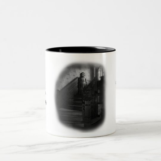 Raine was a mysterious, lonely, only child Two-Tone coffee mug