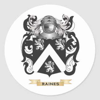 Raines Coat of Arms (Family Crest) Sticker