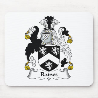 Raines Family Crest Mouse Pad