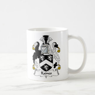 Raines Family Crest Coffee Mug