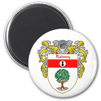 Rainey Coat of Arms (Mantled) Magnets