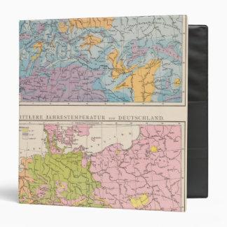 Rainfall map of Germany Binder
