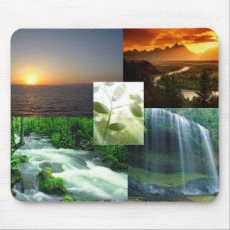 rainfall, sunset, river, sun canyon, tiny tree mouse pad
