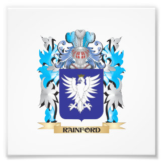 Rainford Coat of Arms - Family Crest Photo Print