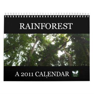 Rainforest 2011 Calendar