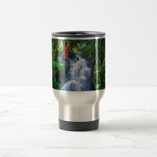 Rainforest and Birds-of-Paradise Coffee Mug