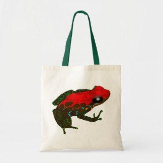 Rainforest Dart Frog Canvas Bags