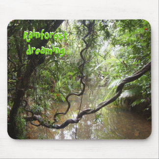 Rainforest Dreaming Mousepad