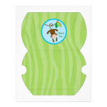 Rainforest Jungle Animal Gift Box Favor Box Flyer