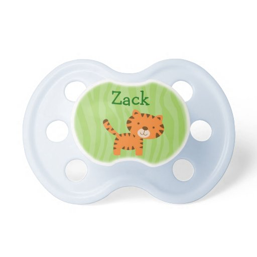 Rainforest Jungle Animal Personalized Pacifier