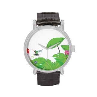 Rainforest jungle stream. wristwatches