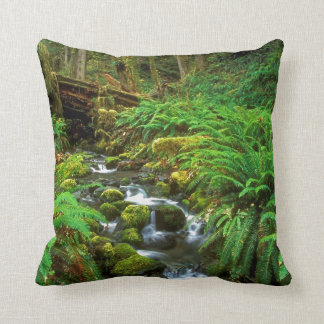 Rainforest Olympic NP Throw Pillow