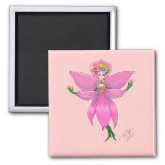 Rainforest Orchid Fairy Magnet