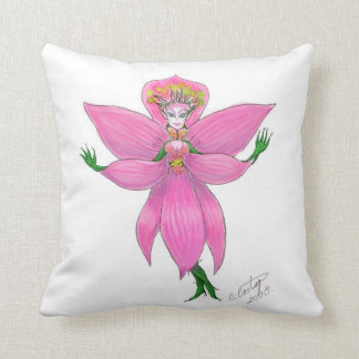 """Rainforest Orchid Fairy"" MoJo Pillow"