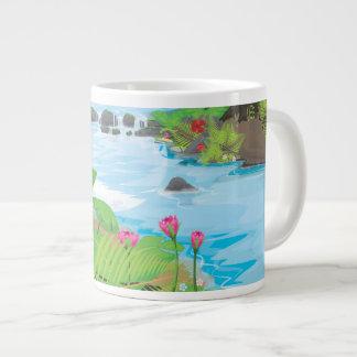 Rainforest River Jumbo Mug