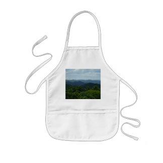 rainforest view kids' apron