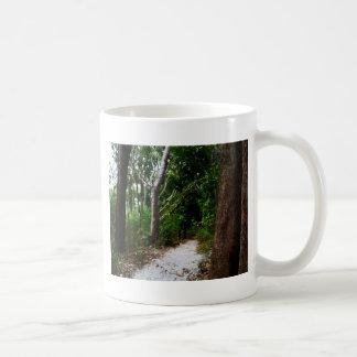 Rainforest watercolor effects coffee mug