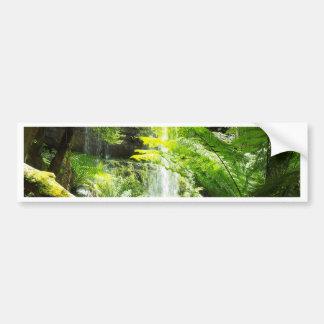 Rainforest Waterfall Bumper Sticker