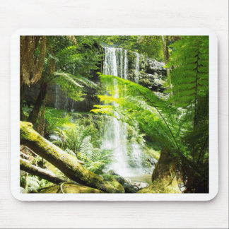 Rainforest Waterfall Mouse Pad