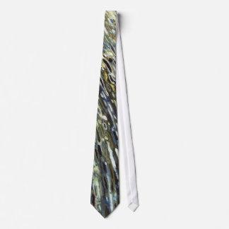 Rainforest Waterfall Silk Tie by Juul