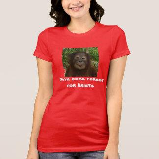 Rainforest Wildlife Conservation Tee Shirts
