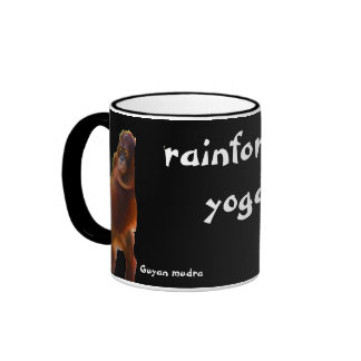 Rainforest Yoga Ringer Coffee Mug